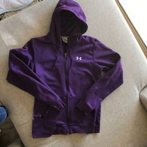 Youth Large Under Armour zip up